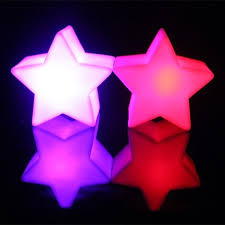 Christmas Decoration Star Lights by Christmas Decoration Star Led Light White Plastic Lava Lamp Small