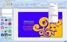business card creator business card designer for windows 810make