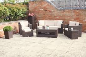 Rattan Settee Large Size Outdoor Sofa Set New Design Garden Furniture Large