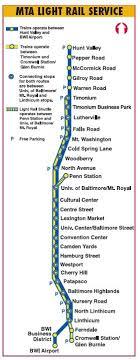 baltimore light rail map baltimore light rail stops map www lightneasy net
