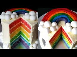 rainbow cake how to make a rainbow birthday cake carlytoffle