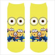 Minion Socks Adults Popular Women Minion Socks Buy Cheap Women Minion Socks Lots From