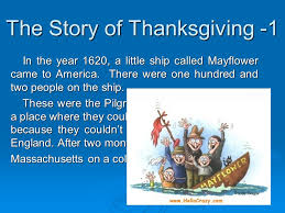 Story About Thanksgiving Something About Thanksgiving Presented By Lynn Luo Ppt Download
