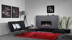 gas fireplace contemporary closed hearth built in relaxed