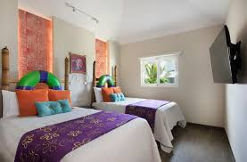 caribbean themed bedroom stay in a pineapple at a spongebob themed villa in the caribbean