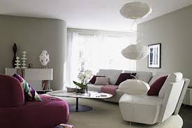 Small Contemporary Sofa by Grey Living Room Walls Brown Furniture Round Brown Wooden Coffee