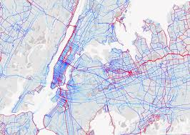 Metro New York Map by How A Fitness App For Cyclists Is Reshaping City Planning Curbed