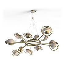 Contemporary Light Fixtures by The Best Contemporary Lighting A Mid Century Modern Chandelier