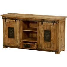 Media Cabinet With Sliding Doors Ironworks Mango Wood Iron Sliding Doors Media Cabinet