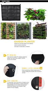 wall hanging planters wall hanging planter bags buy vertical garden wall pocket