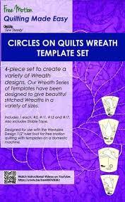 westalee coq wreath template set