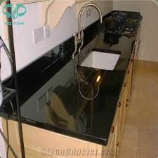 chinese absolute black granite kitchen countertops absolute black