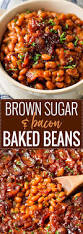 brown sugar and bacon baked beans the chunky chef