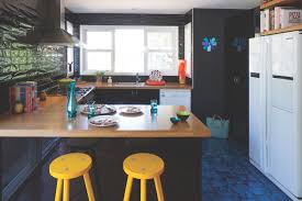 U Shaped Kitchen With Splendid Design That Appears With Black