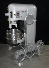 used 60 quart hobart mixer no bowl guard model h 600t