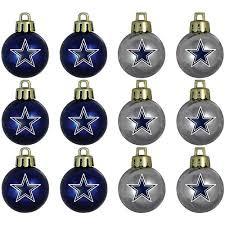 topperscot nfl dallas cowboys ornament set set of 12 walmart