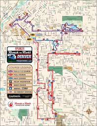 Marathon Florida Map by Denver Rock U0027n U0027 Roll Half Marathon Denver Co 10 15 2017 My