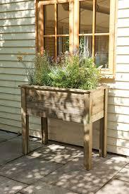 25 parasta ideaa wooden garden planters pinterestissä