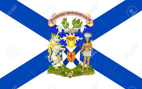 New Brunswick Flag Flag Of New Scotland Is One Of Canada U0027s Three Maritime Provinces
