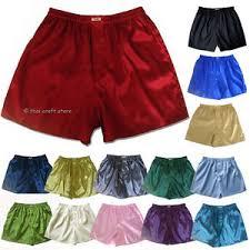 new thai silk boxer shorts 1 3 or 5 pairs m l xl 2xl s