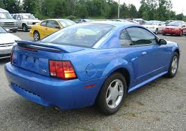 2000 blue mustang bright atlantic blue 2000 ford mustang gt coupe mustangattitude