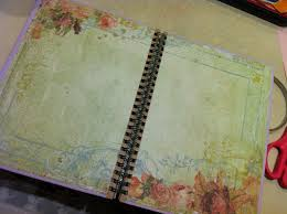 Notebook Cover Decoration Tutorial Decorated Notebooks Made With L O V E U003c3 Lainese
