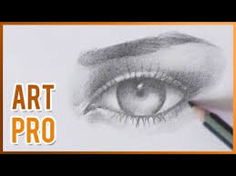 how to draw an eye step by step with pencil youtube