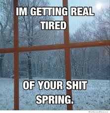 Getting Real Tired Meme - gettin real tired of your shit spring weknowmemes