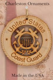 unique coast guard wooden ornament coast guard ornament