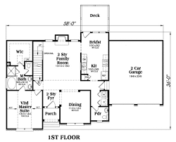 family floor plans traditional plan 1 721 square 3 bedrooms 2 5 bathrooms