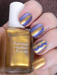 southwestern nail art with elevation polish and fair maiden polish