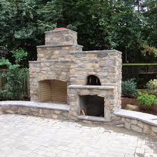 Backyard Fireplace Plans by Backyard Pizza Oven Plans Design Ideas Pictures Remodel And