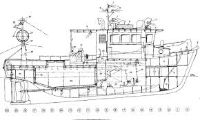 Wooden Model Ship Plans Free by Model Fishing Trawler Plans This Scale Model Plan Set Is Provided