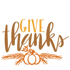 give thanks thanksgiving phrase svg scrapbook cut file