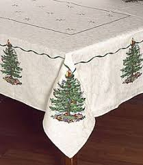 spode tree table linens collection china