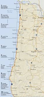 map of oregon state oregon parks and recreation department state parks oregon coast