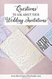 photo wedding invitations 21 questions to ask when ordering your wedding invitations