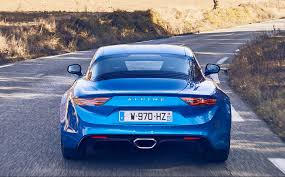 alpine a110 first drive review 2018 alpine a110