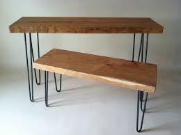 Hairpin Leg Console Table Bord