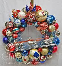 318 best vintage ornaments wreaths images on