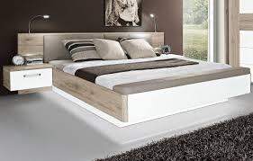 Schlafzimmer Bett Auf Raten Forte Bett Rondino Weiß Hochglanz Sandeiche Nachbildung Möbel