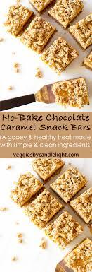 ier cuisine en r ine no bake chocolate caramel snack bars veggies by candlelight