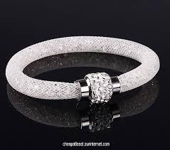 white swarovski crystal bracelet images Cheap crystal stardust bracelet style swarovski diamond clasp jpg
