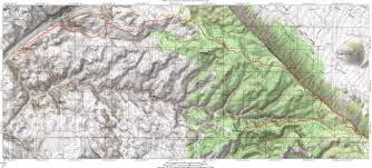 Map Of Moab Utah by Porcupine Rim Trail