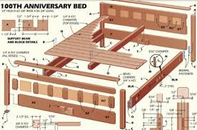 bed frame building plans free woodworking plans queen bed frame