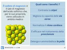 le proprietã magnesio supremo magnesio proprietà benefici controindicazioni e rischi da carenza