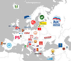 European Countries Map Ruling Parties In European Countries
