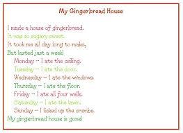 gingerbread house christmas classroom wall display
