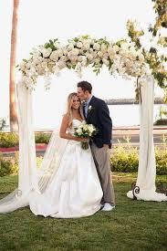 wedding arches decor best 25 wedding arch tulle ideas on wedding alter