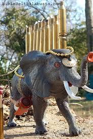 elephant menorah elephant warrior menorah with bonus martyr bible belt